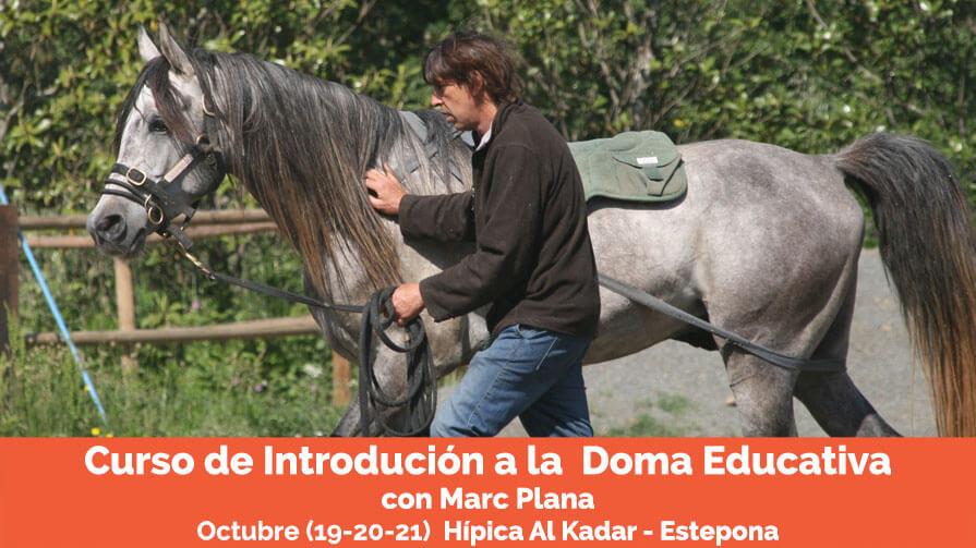 Curso doma educativa Marc Plana Al Kadar Octubre 18