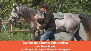 Curso doma educativa Marc Plana AlKadar Abril18
