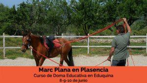 Marc Plana curso doma educativa Plasencia Junio 18